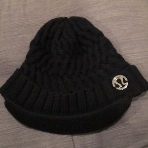 Lululemon cable knit toque with brim